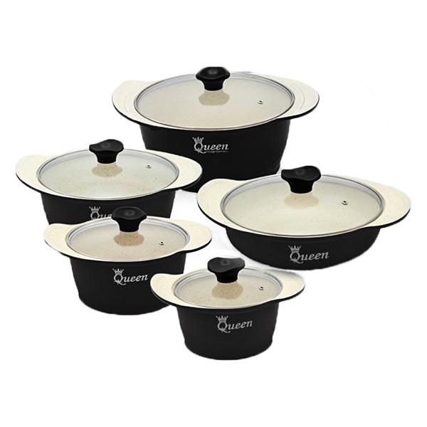 سرویس پخت و پز 10 پارچه کویین مدل السا