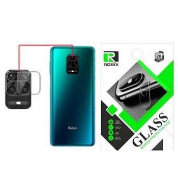 محافظ لنز دوربین روبیکس مدلSADRedmiNote9Sمناسب برای گوشی موبایل شیائومی Redmi Note 9S بسته 2عددی