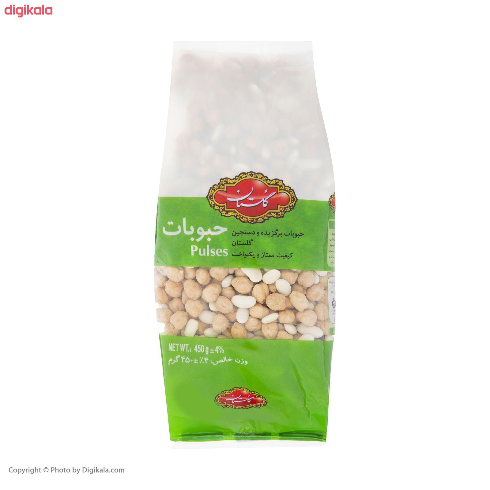 نخود و لوبیا گلستان مقدار  450 گرم main 1 3