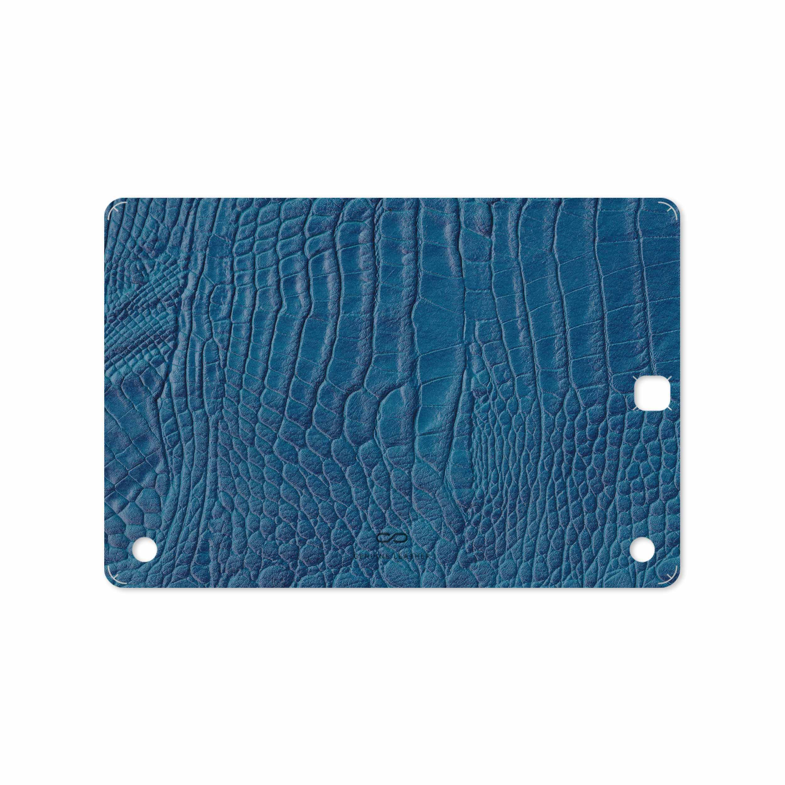 بررسی و خرید [با تخفیف]                                     برچسب پوششی ماهوت مدل Blue-Crocodile-Leather مناسب برای تبلت سامسونگ Galaxy Tab A 9.7 2015 T550                             اورجینال