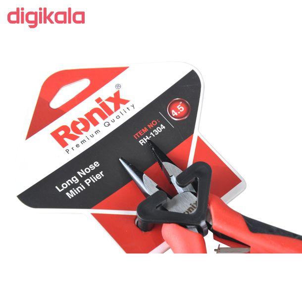 انبر دم باریک رونیکس RH-1304 سایز 4/5 اینچ main 1 2