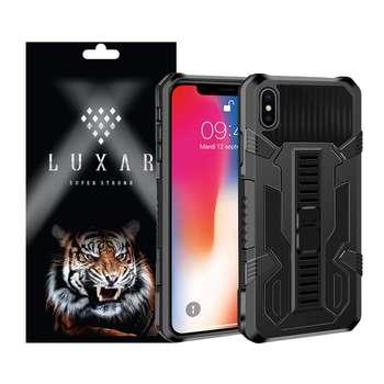 کاور لوکسار مدل kikstand-100 مناسب برای گوشی موبایل اپل iPhone Xs Max