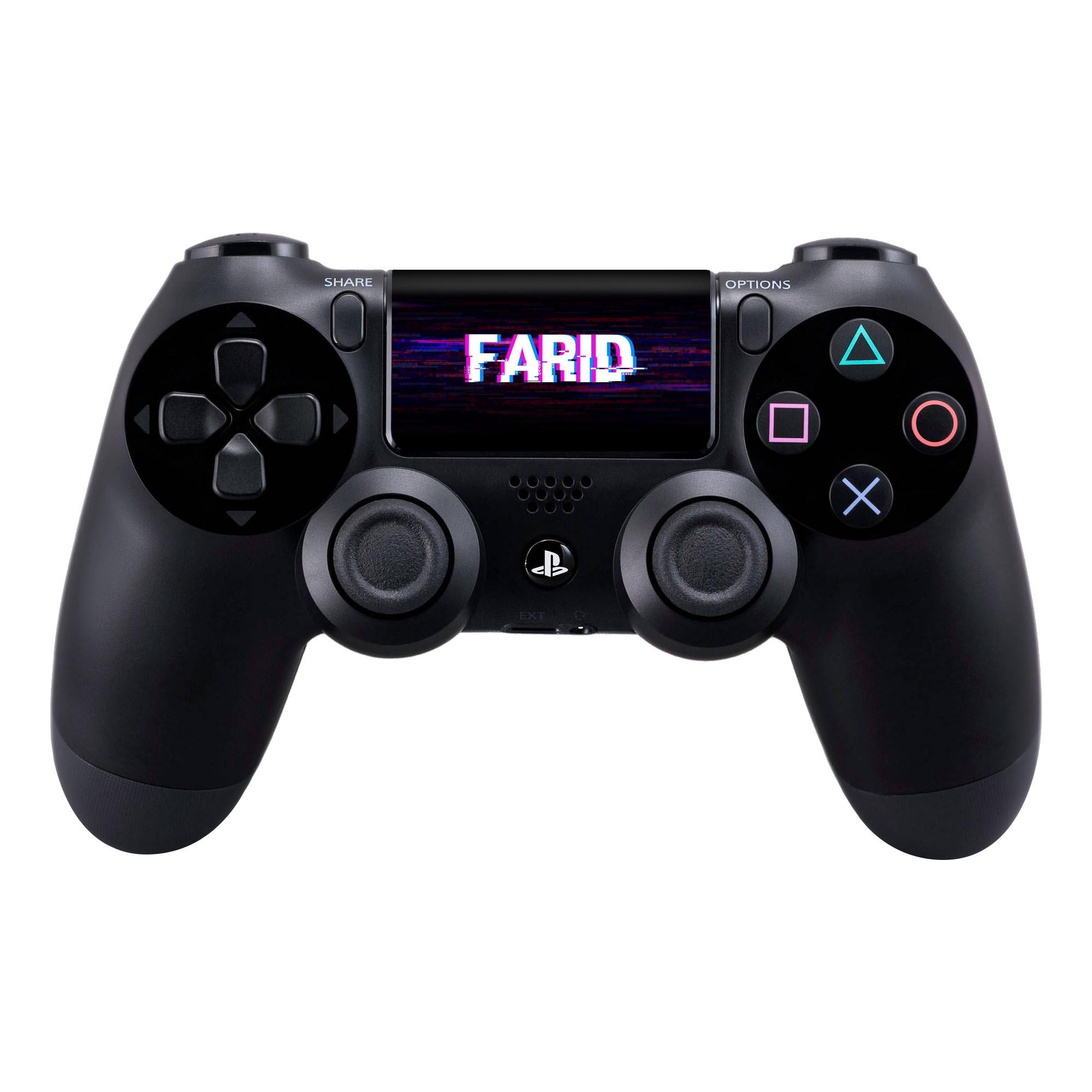 برچسب تاچ پد دسته پلی استیشن 4 ونسونی طرح Farid