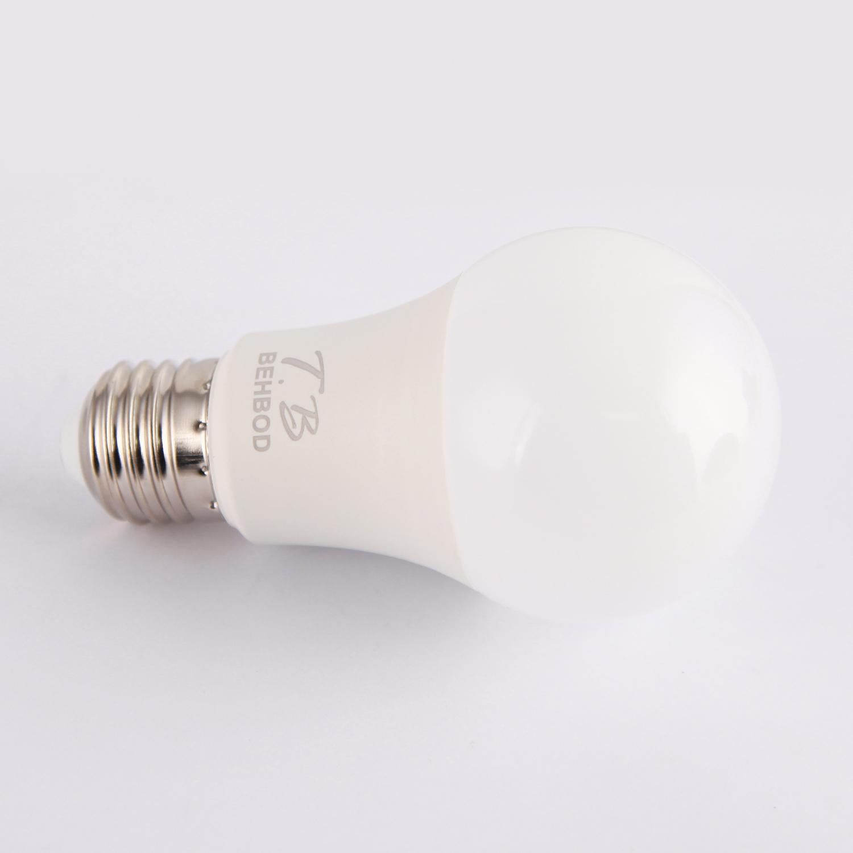 لامپ ال ای دی 9 وات بهبد مدل A88 پایه E27 بسته 6 عددی