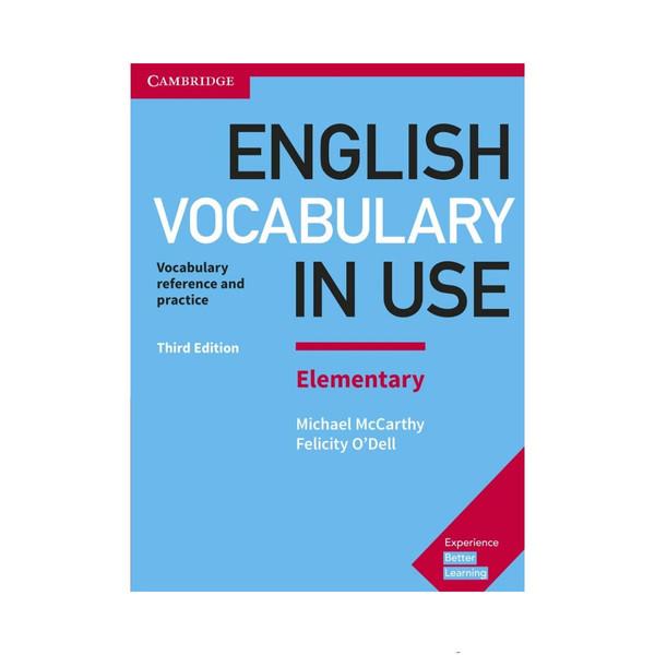 کتاب English vocabulary in use elementary اثر Michael McCarthy and Felicity ODell انتشارات کمبریج