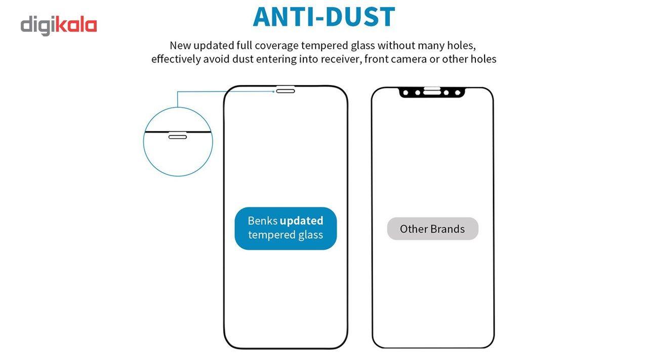 محافظ صفحه نمایش و پشت و لنز تمام چسب شیشه ای تمپرد پیکسی مدل 5D  مناسب برای گوشی اپل آیفون X main 1 13