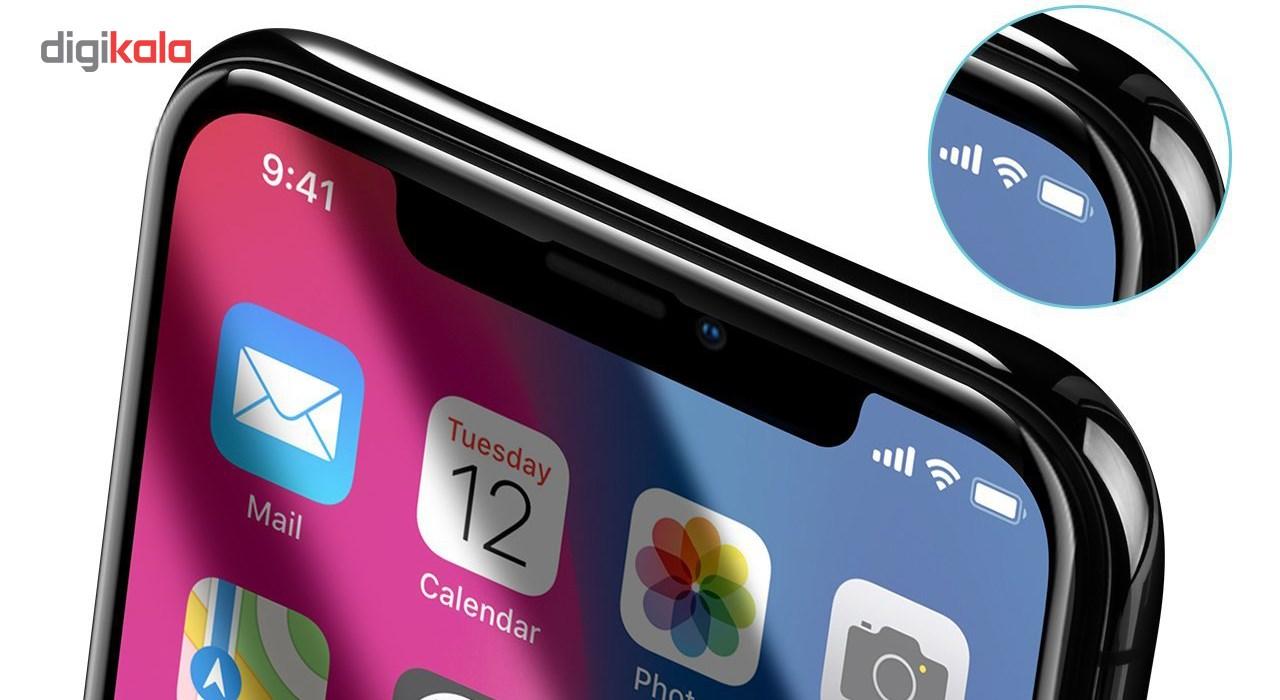 محافظ صفحه نمایش و پشت و لنز تمام چسب شیشه ای تمپرد پیکسی مدل 5D  مناسب برای گوشی اپل آیفون X main 1 14