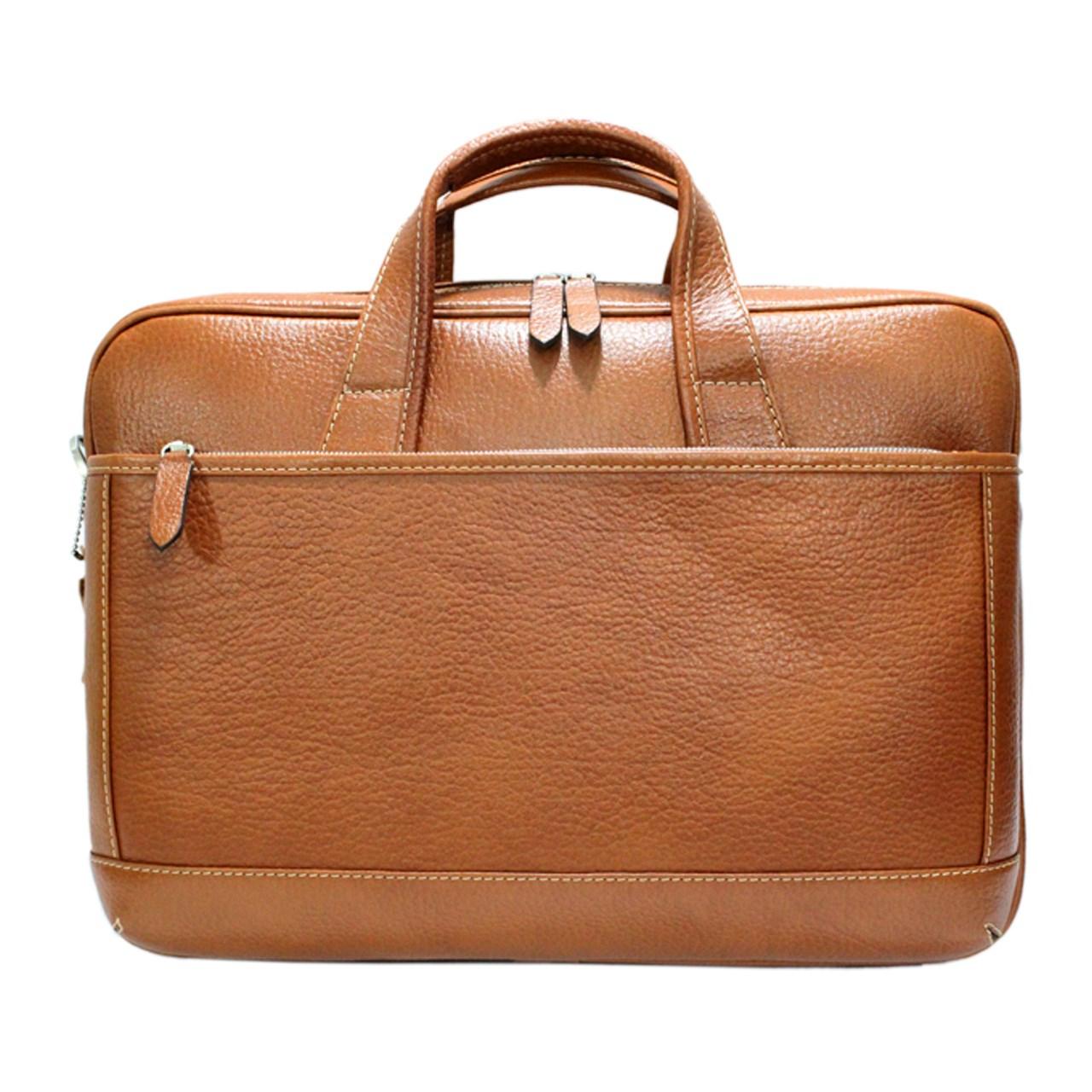 قیمت کیف اداری چرم طبیعی مردانه کد pe047