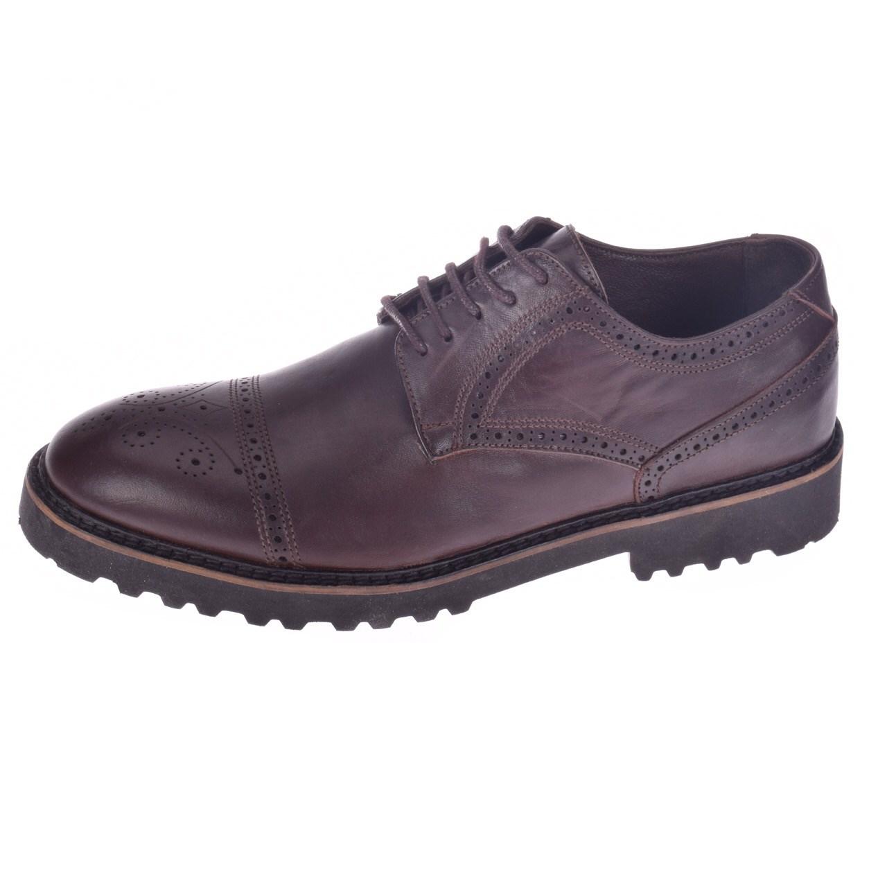 کفش چرم مردانه آر پی ام مدل میلانو کد C