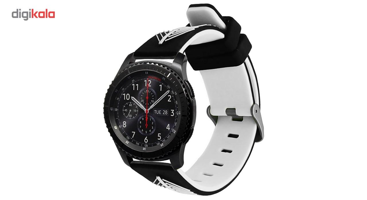 بند سیلیکونی ساعت هوشمند مدل WS-17 مناسب برای سامسونگ Gear S3