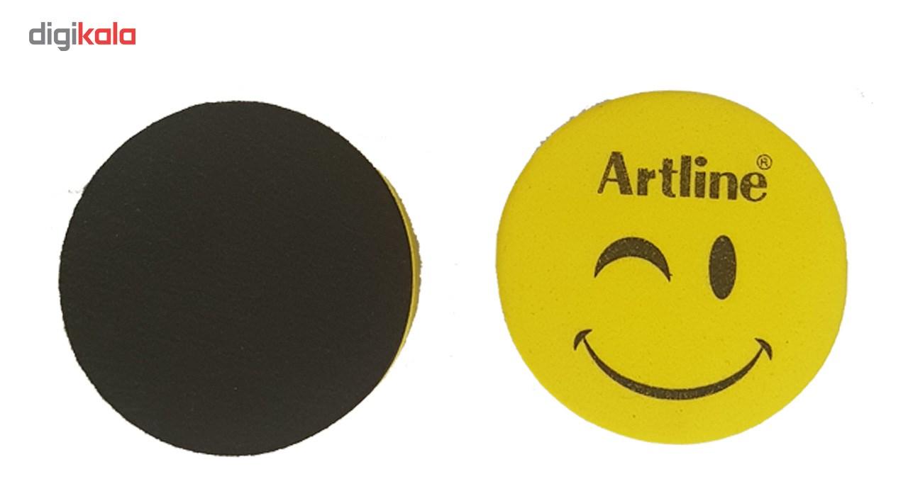 تخته پاک کن وایت برد مغناطیسی آرت لاین مدل چشمک- بسته دوعددی main 1 4