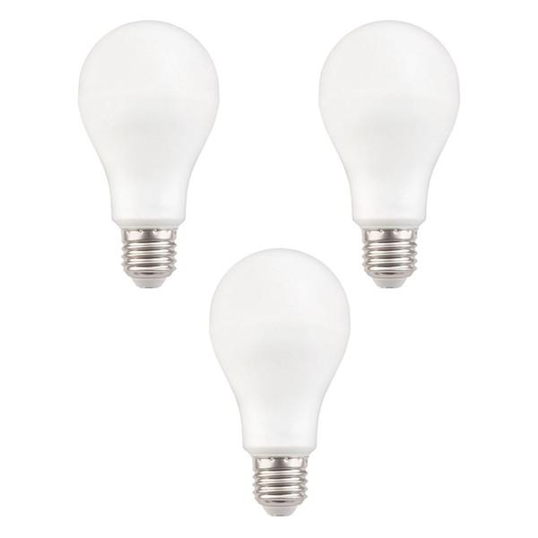 لامپ ال ای دی 12 وات هالی استار مدل A65 پایه E27 بسته 3 عددی