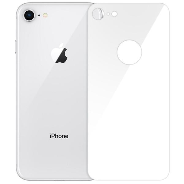 محافظ پشت گوشی شیشه ای بلواُ  مدل 5D Full Cover مناسب برای گوشی موبایل اپل آیفون 7/8