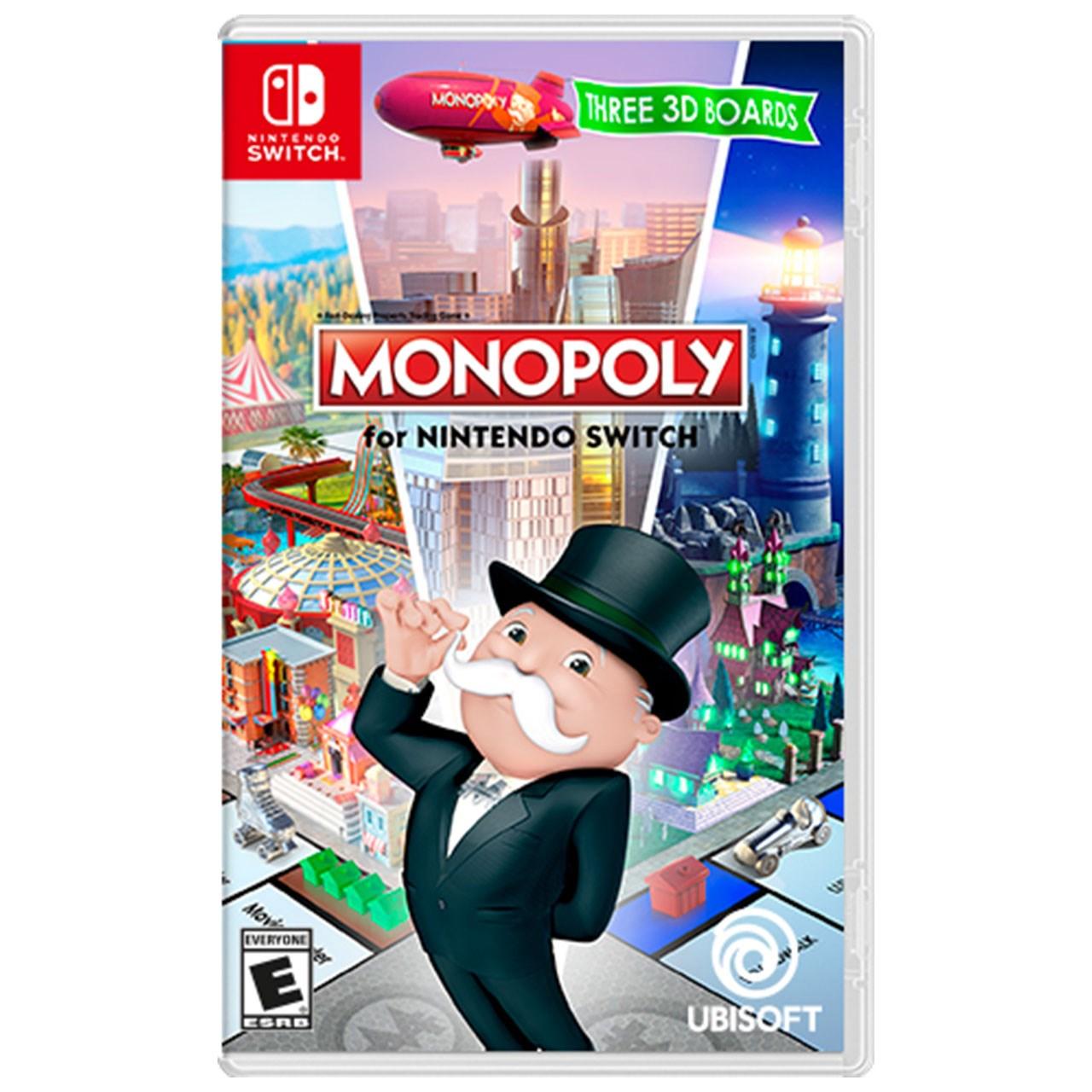 بازی Monopoly مخصوص Nintendo Switch