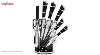 ست چاقوی 9 پارچه سونو مدل SN008