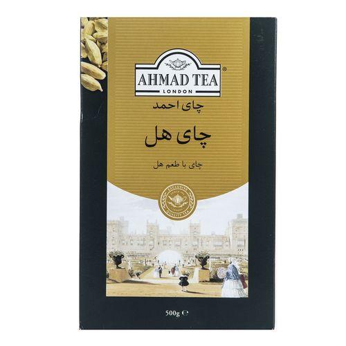 چای سیاه احمد با طعم هل مقدار 500 گرم