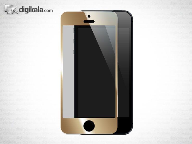 محافظ صفحه نمایش طلایی برای آیفون 5/5S main 1 1