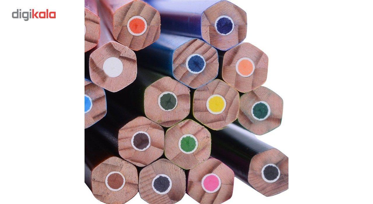 مداد رنگی 24 رنگ استدلر مدل Noris Club main 1 4