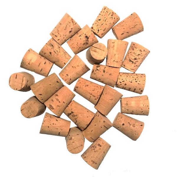درب بطری چوب پنبه مدل 18-24 - بسته 10 عددی