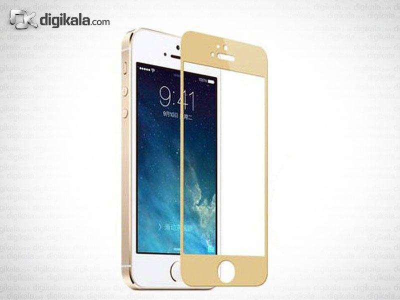 محافظ صفحه نمایش طلایی برای آیفون 5/5S main 1 2