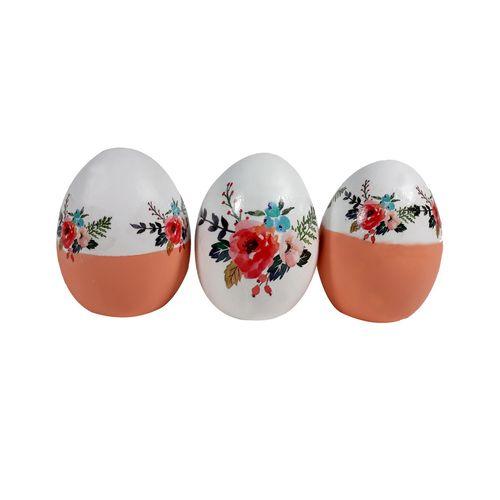 تخم مرغ تزیینی سفره هفت سین گالری میس کادو  مدل MK17