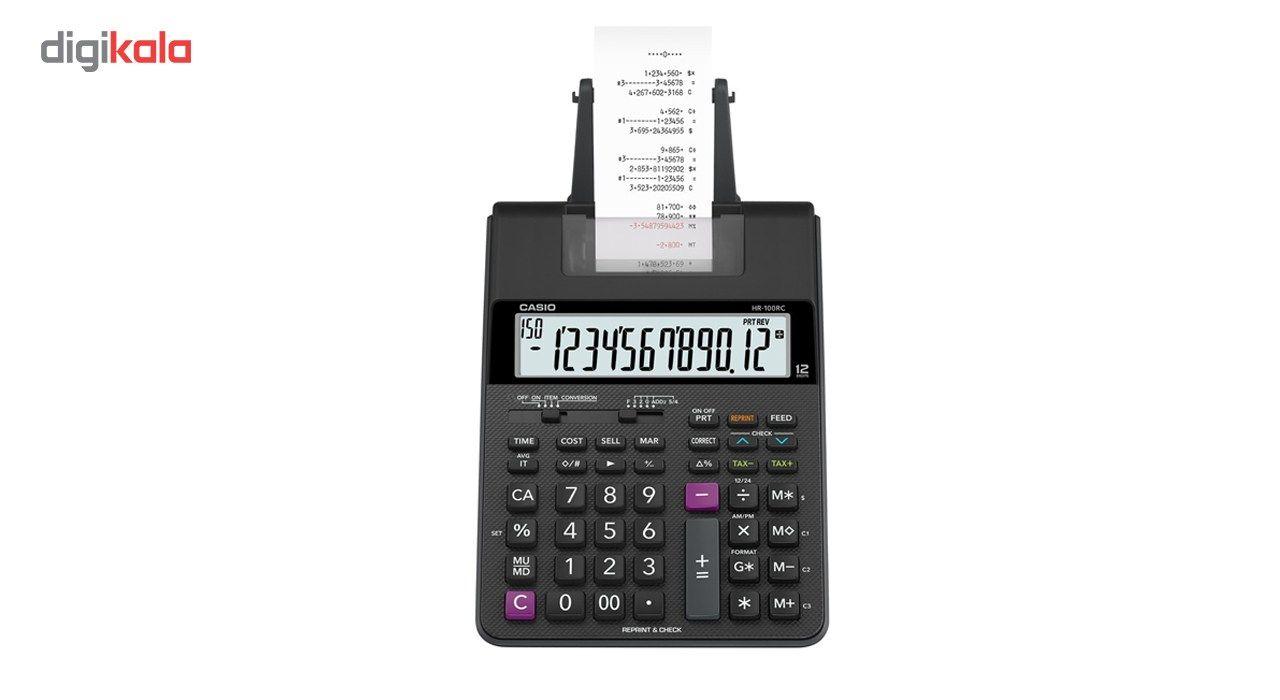 ماشین حساب کاسیو مدل HR-100RC main 1 1