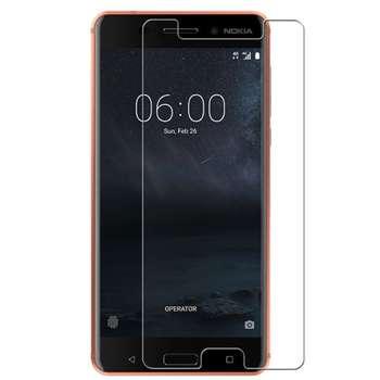 محافظ صفحه نمایش شیشه ای تمپرد هوکار  مناسب برای Nokia 6