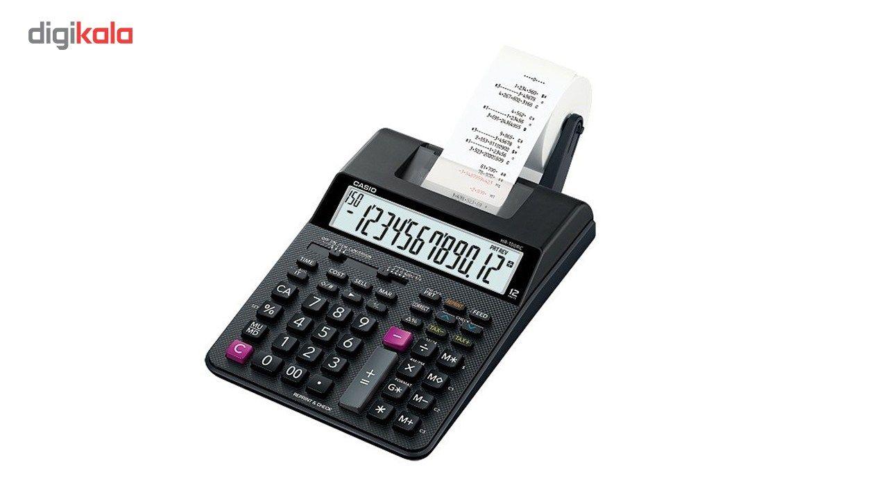 ماشین حساب کاسیو مدل HR-100RC main 1 2