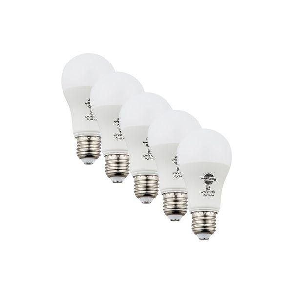 لامپ اس ام دی 15 وات پارس شهاب پایه E27 بسته 5 عددی