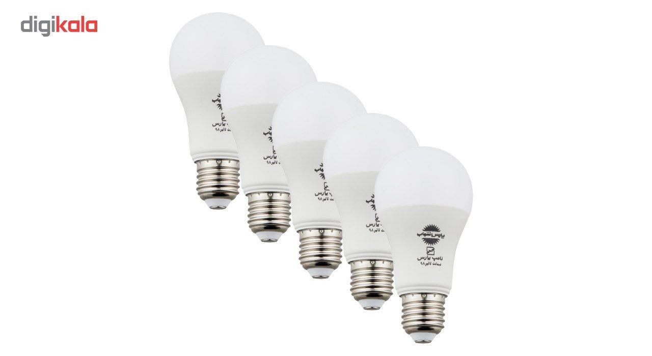 لامپ اس ام دی 15 وات پارس شهاب پایه E27 بسته 5 عددی main 1 1