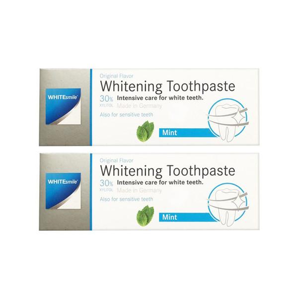 پک 2 عددی خمیر دندان سفید کننده وایت اسمایل مدل Whitening حجم 75میلی لیتر
