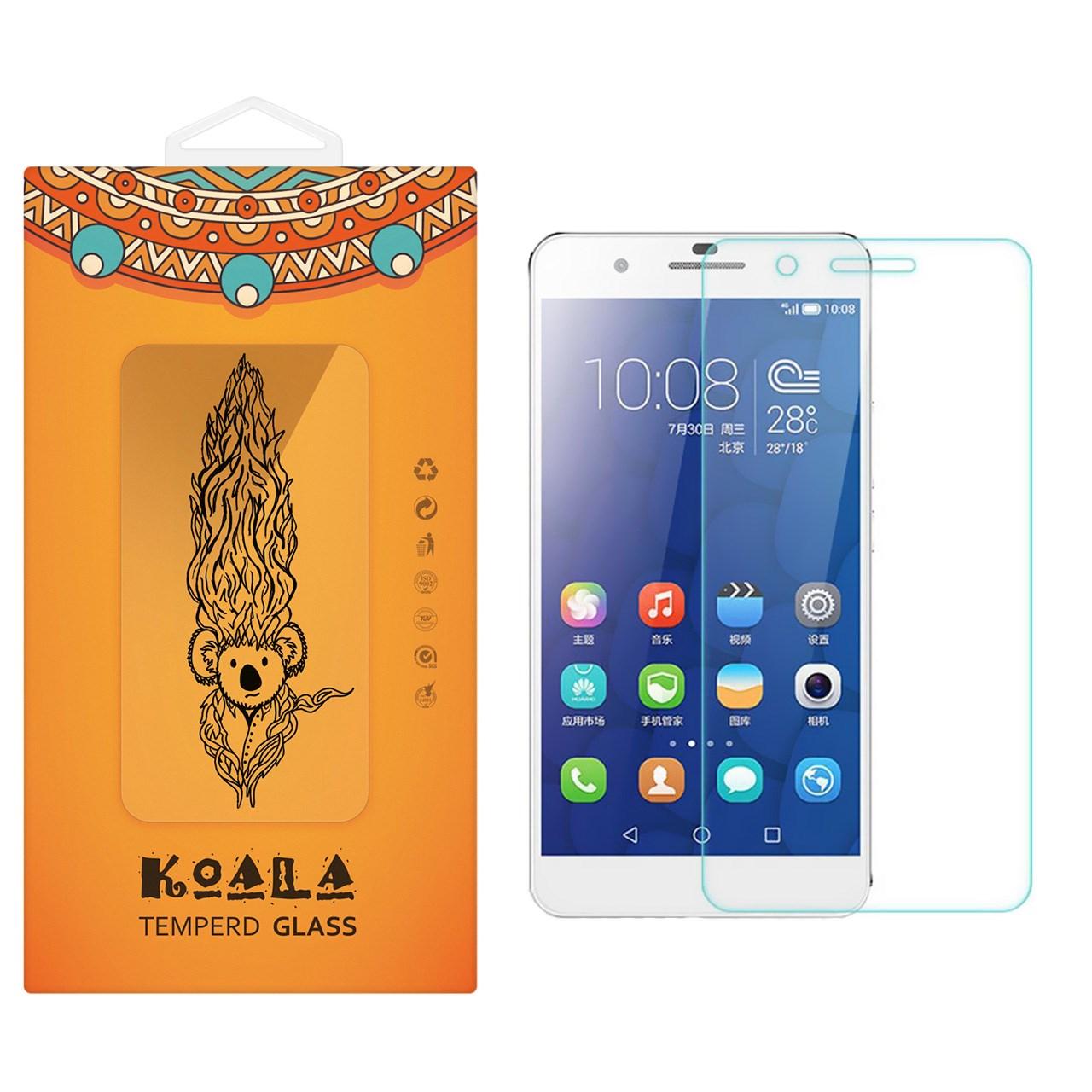 محافظ صفحه نمایش شیشه ای کوالا مدل Tempered مناسب برای گوشی موبایل هوآوی Honor 6