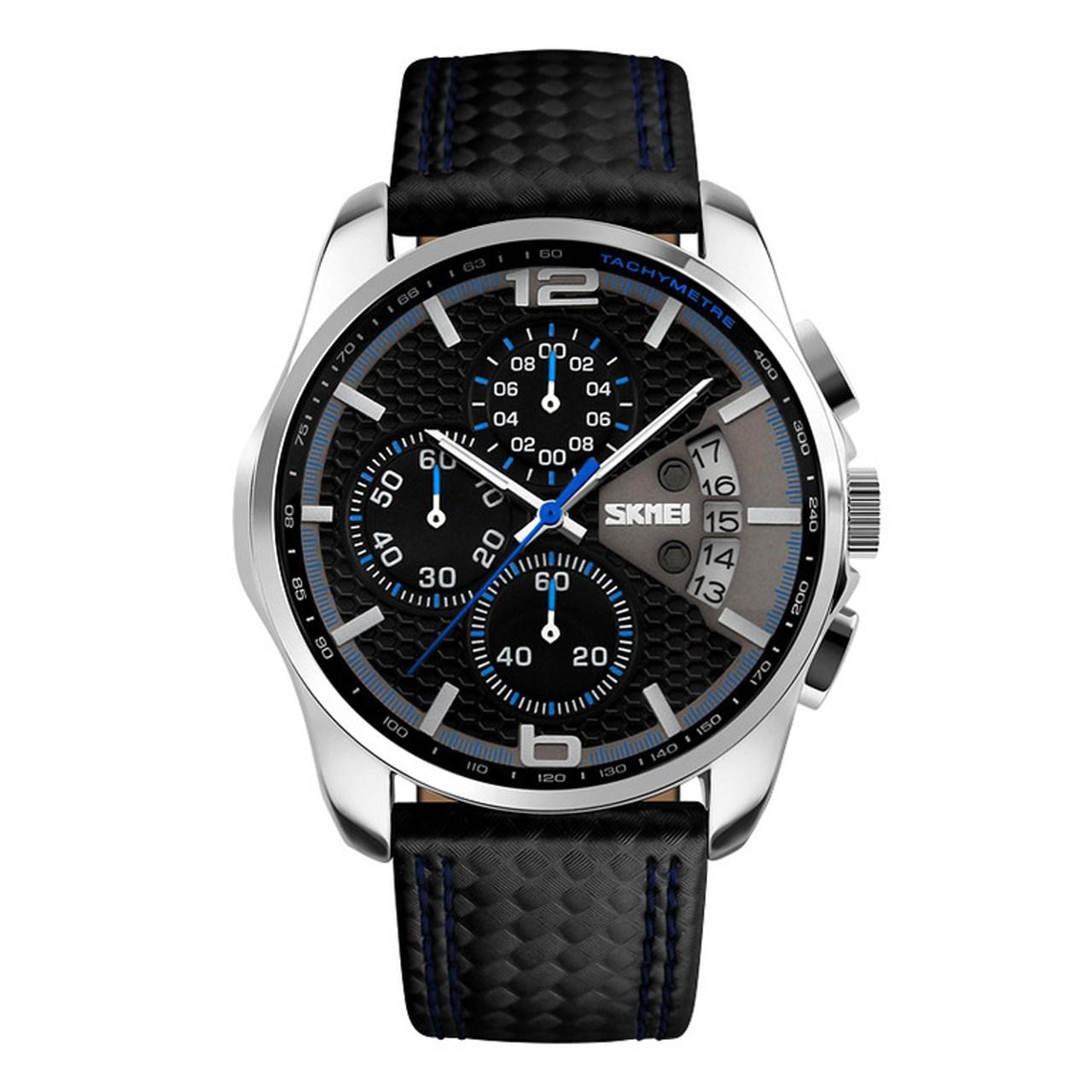 ساعت مچی عقربه ای مردانه اسکمی مدل S9106/Blue
