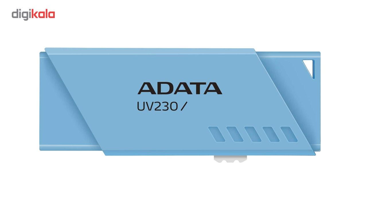 فلش مموری ای دیتا مدل UV230 ظرفیت 64 گیگابایت