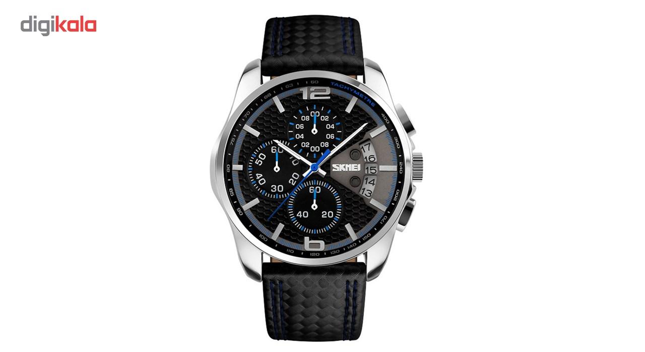 خرید ساعت مچی عقربه ای مردانه اسکمی مدل S9106/Blue