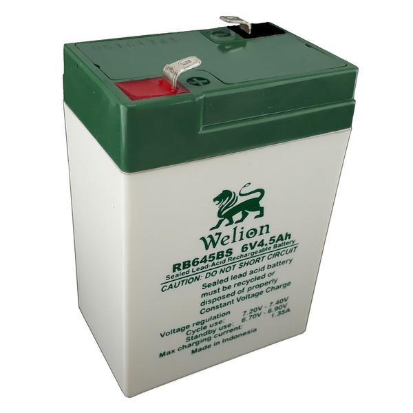 باتری یو پی اس 6 ولت 4.5 آمپر ویلیون مدل RB-645BS