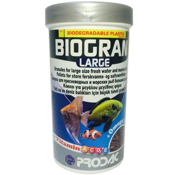 غذای ماهی پروداک مدل Biogran Large وزن 100 گرم