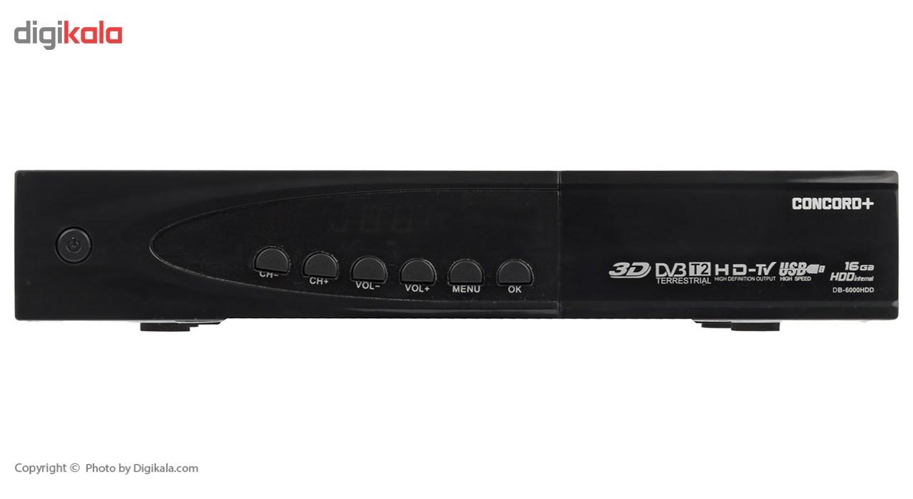 گیرنده دیجیتال کنکورد پلاس مدل DB-6000HDD