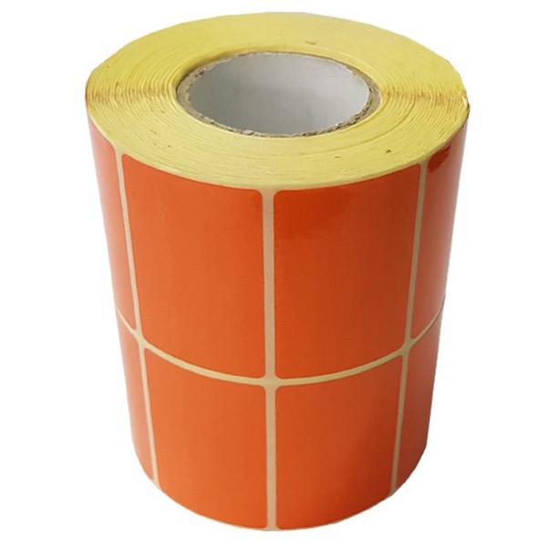 برچسب نارنجی پرینتر لیبل زن کد 006