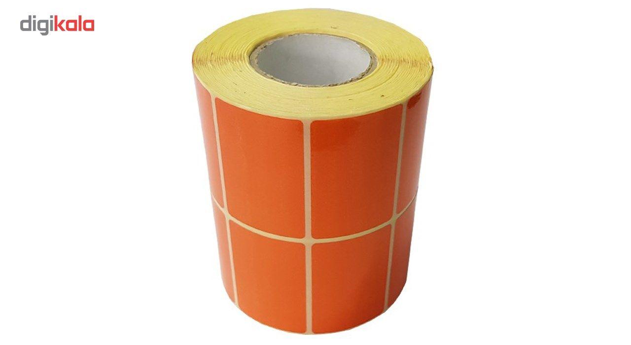 برچسب نارنجی پرینتر لیبل زن کد 006 main 1 1