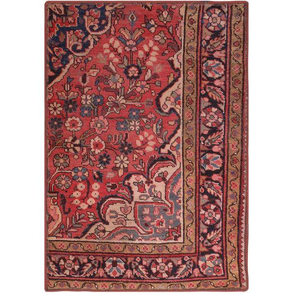 فرش قدیمی یک متری فرش هریس کد 100751