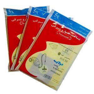 پاکت جاروبرقی ال جی همتا مدل های 6200ST سه بسته 5 عددی