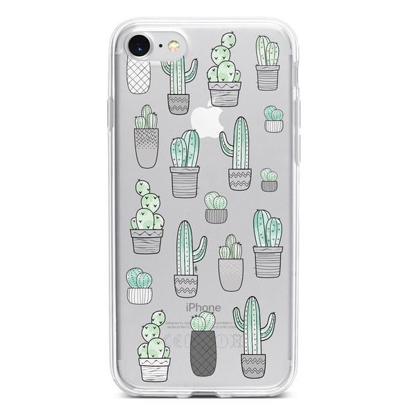 کاور  ژله ای مدل  Cactus مناسب برای گوشی موبایل آیفون 7 و 8
