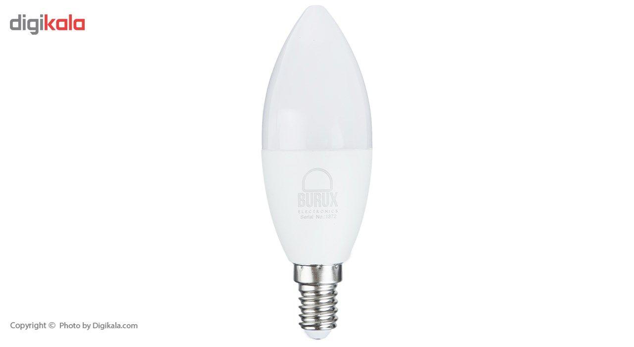 لامپ ال ای دی 7 وات بروکس مدل C37-1740 پایه E14 main 1 1