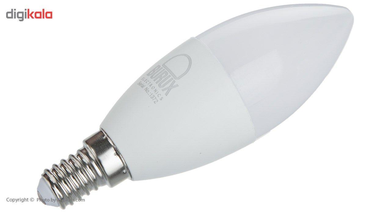 لامپ ال ای دی 7 وات بروکس مدل C37-1740 پایه E14 main 1 2