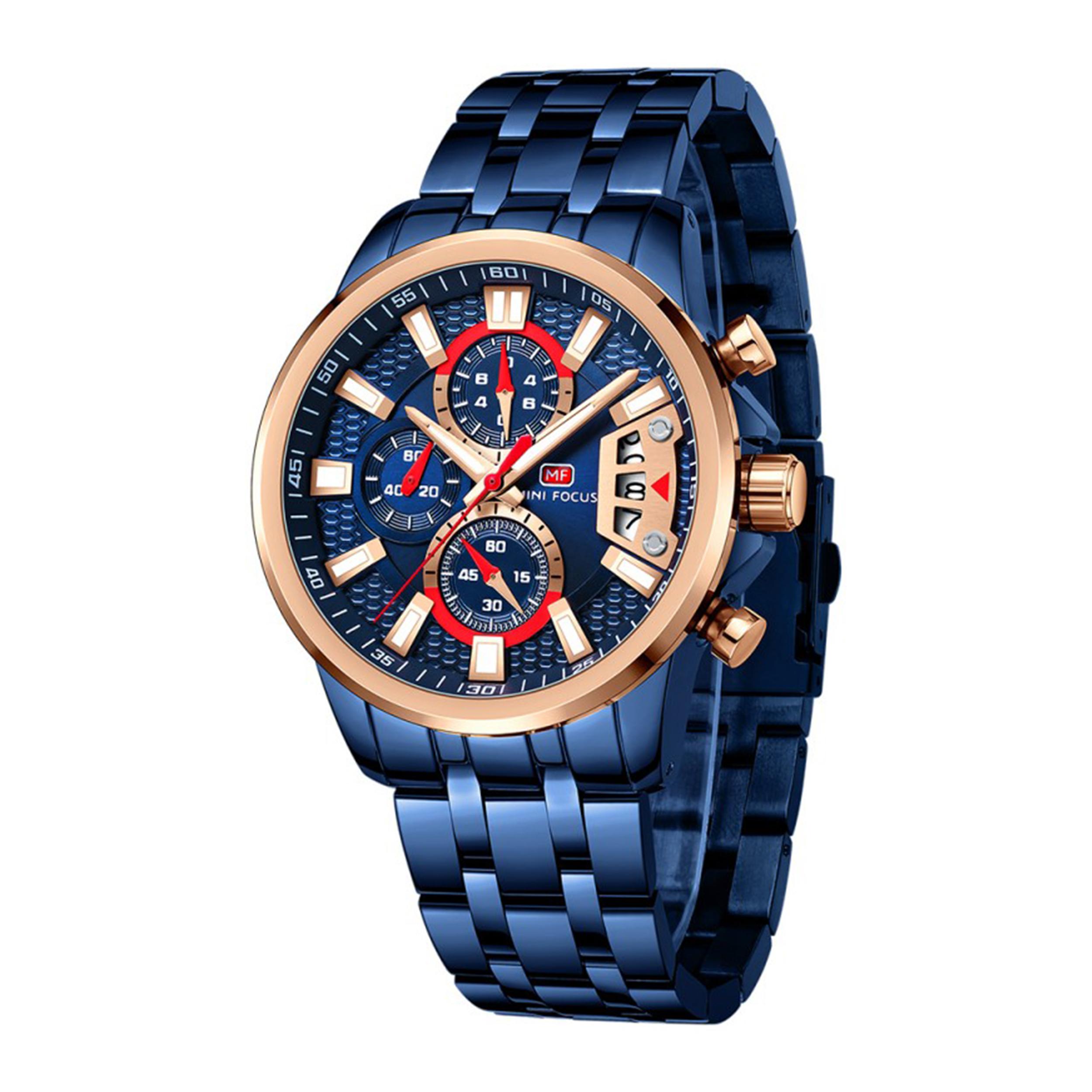ساعت مچی عقربهای مردانه مینی فوکوس مدل MF0352G.03
