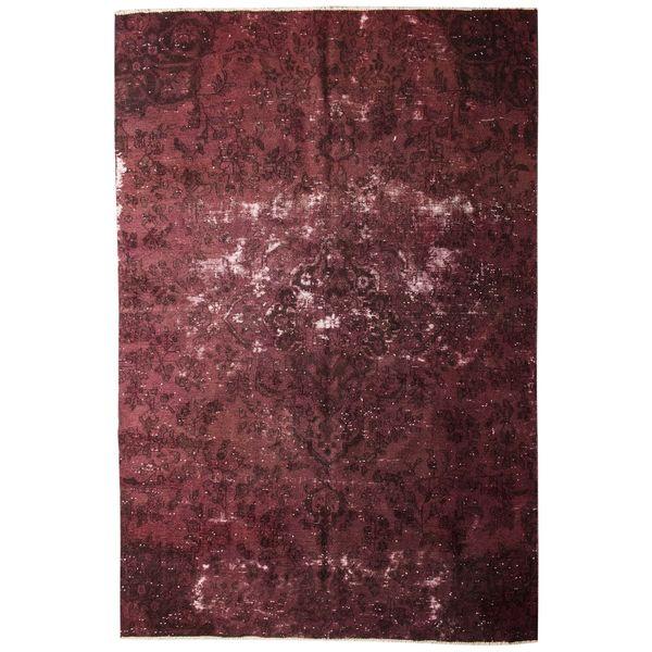 فرش قدیمی 6 متری سرزمین فرش کد cp2127