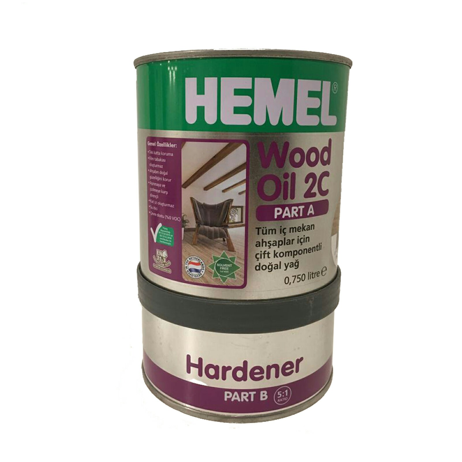 قیمت                                      روغن چوب همل مدل 2C حجم 900 میلی لیتر