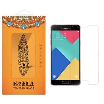 محافظ صفحه نمایش شیشه ای کوالا مدل Tempered مناسب برای گوشی موبایل سامسونگ Galaxy A9 2016