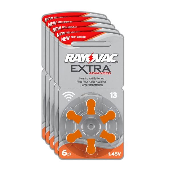 باتری سمعک ریوواک سایز 13 بسته 30 عددی